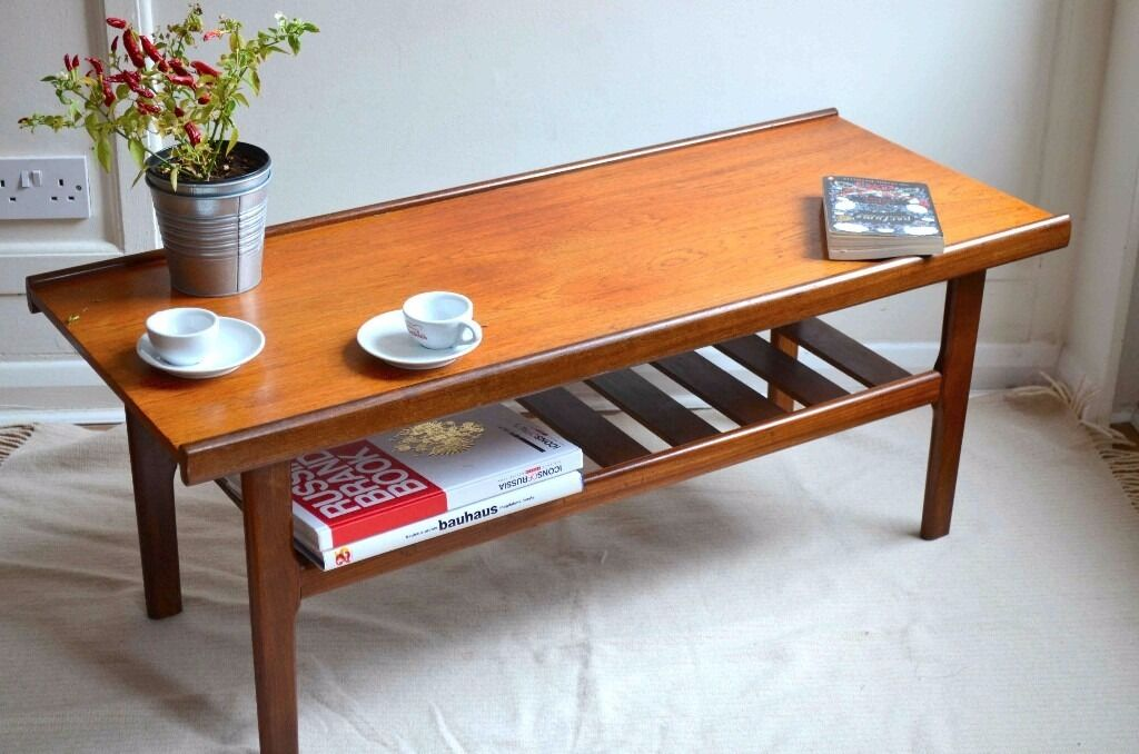 Vintage quotMyerquot Danish style teak slatted coffee table  : 86 from www.gumtree.com size 1024 x 678 jpeg 93kB