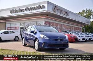 2013 Toyota Prius v LUXURY PKG SOFTEX, GPS