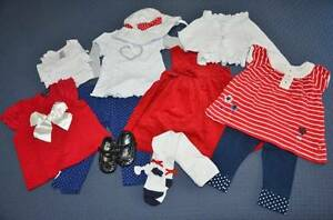 Baby Girl's clothing bundle - 13 pieces - size 0 Mount Barker Mount Barker Area Preview