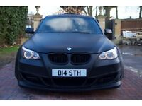 BMW E60 530D M-SPORT MODIFIED ONE OFF FAST REMAPPED WIDEBODY SHOW CAR CUSTOM SWAP