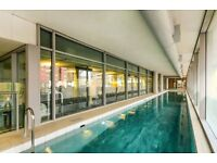 Luxury apartment, gym, pool, 24 hour concierge, 12 minutes to Canary Wharf- AVAILABLE