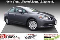 2013 Honda Civic Sedan LX LOW MILEAGE!!! Auto Start! Heated Seat
