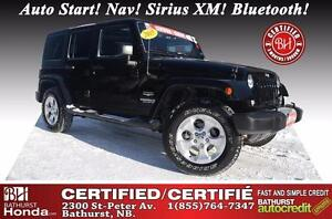 2015 Jeep Wrangler Unlimited Sahara LOW MILEAGE!! Certified! Aut