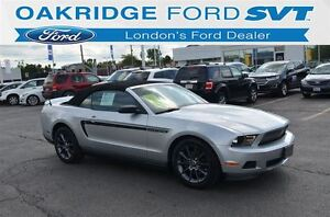 2012 Ford Mustang V6 Premium CONVERTIBLE LEATHER HEATED SEATS BA