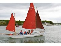 Drascombe Coaster for sale with trailer and engine