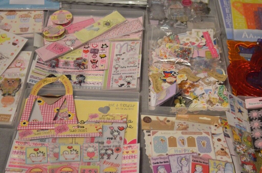 Job Lot of Card Making Supplies