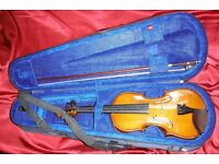 Student 1/2 size Stentor Violin Soft Case Set