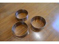 9cm x 3.5cm vogue mousse ring, set of 3 - £5 (RRP £12)