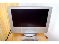 "Sony LCD WEGA 23"" tv on stand + control + Goodmans freeview box."