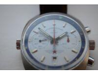 Poljot Sturmanskie manual wind mechanical chronograph wristwatch - Russian,Vintage - cal 3133