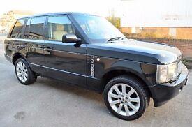 Land Rover Range Rover 4.4 V8 SE 5dr *LPG*, Low mileage, Two Keys, Rear TV Screen