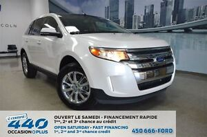 2014 Ford Edge AWD * Cuir, toit panoramique, navigation *