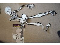 inflatable skeleton Halloween 3x LOT and going cheap