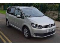 2011 VOLKSWAGEN,TOURAN 1.6 TDI BLUEMOTIONTECH SE,AUTO PARK ASSIST,FULL VW SERVICE HSTRY,HPI CLR