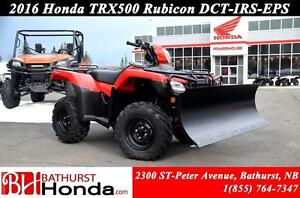 2016 Honda TRX500 Rubicon - EPS IRS DCT PLOW KITS!!! Independent