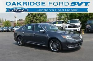 2013 Lincoln MKS MKS AWD DUAL PANEL MOONROOF LEATHER NAVIGATION