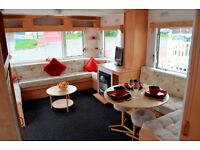 SAVE SAVE SAVE- DELTA SANTANA -FAMILY STARTER HOLIDAY HOME-PITCH FEES INCLUDED-Dumfries and Galloway