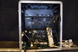 12u outboard and effects rack - EQ , Reverb, Gates, Compressors