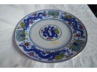 """Minton Chinese Dragon and Bird 10"""" plate"""