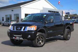 2015 Nissan Titan PRO-4X! HEATED LEATHER! SUNROOF! NAV!