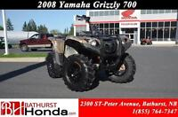 2008 Yamaha Grizzly 700 FI Independent Suspension! 4X4 Diff-Lock