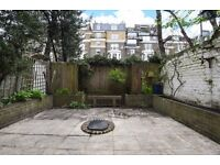 Coleherne Road SW10. Spacious two bedroom garden flat to rent.
