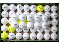 50 used Srixon Soft Feel golf balls.