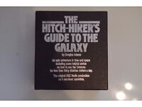 Hitch Hikers Guide to the Galaxy Cassette audio book set.