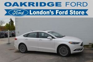 2017 Ford Fusion ALL WHEEL DRIVE, 2.0L ENGINE, HEATED PREMIUM LE