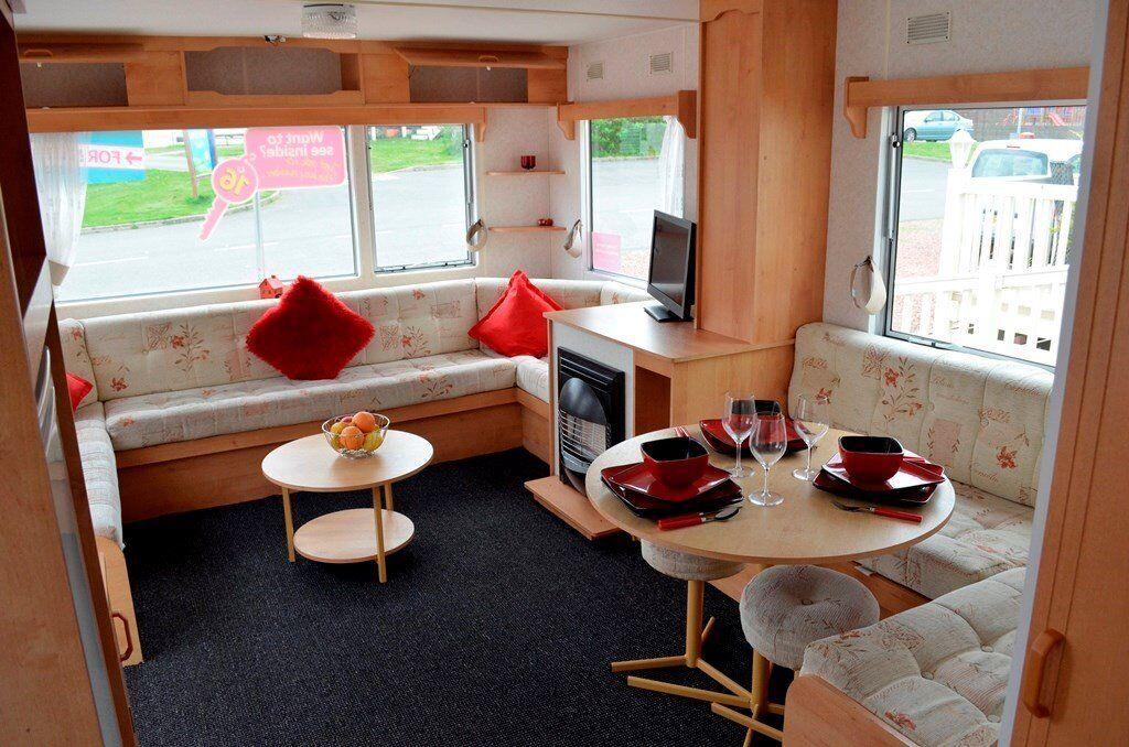 Great Value Starter Caravan 6 Berth Dumfries Carlisle Cumbria Southerness Ayr Lanarkshire