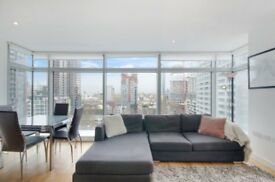 2 Bed apartment on 12th Floor of Canary Wharf Devlopment Pan Peninsula E14, South Quay E14 GYM
