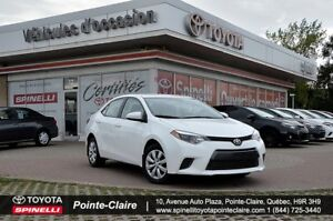 2015 Toyota Corolla LE PKG CAMÉRA DE RECULE HEATED SEATS+BLUE TO