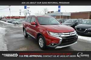 2016 Mitsubishi Outlander SE, AWD, HEATED SEATS, BLUETOOTH