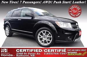 2015 Dodge Journey R/T New Tires! 7 Passengers! AWD! Push Start!