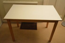 - nifty white table -