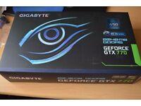 Nvidia Gigabyte GTX 770 Windforce x3 OC 2GB £100 Pickup Only