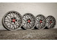 "*Refurbished* Genuine 15"" BBS VW Golf Mk3 Alloy Wheels 5x100"