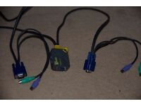 NEWLink NLKVMP2PC VGA KVM cable