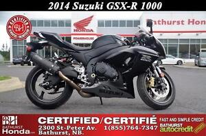 2014 Suzuki GSX-R 1000 MINT CONDITION!!