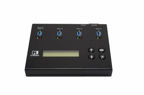 Ureach 1:3 USB 3.0/3.1 Duplicator 16GB/Min - Portable Flash Drive Copier - A1