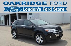 2014 Ford Edge Limited with vision package, vista roof, leather