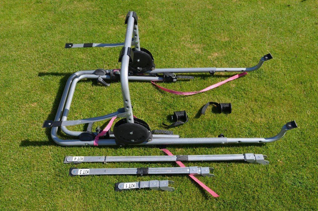Halfords Bike Rack For 2 Bikes Including All Fittings And