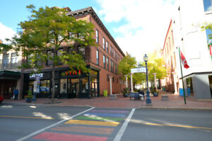 1 bedroom loft in the heart of Downtown Moncton!
