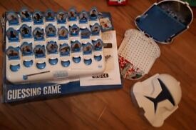 Star Wars Guess Who? and Battleships games.