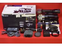 Sony NEX-VG10E Camcorder with E18-200mm Lens £530