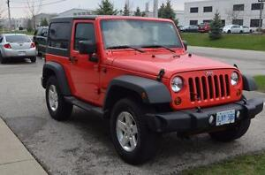 2013 Jeep Wrangler Rock Lobster Gently Used