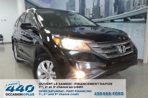 2013 Honda CR-V | TOURING, AWD,  CUIR, TOIT, NAVIGATION
