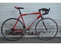 Raleigh Red Road Bike 56cm Shimano