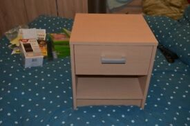 2 x Bedside cabinet