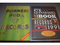 Guinness Book of Records 1979 and 1991